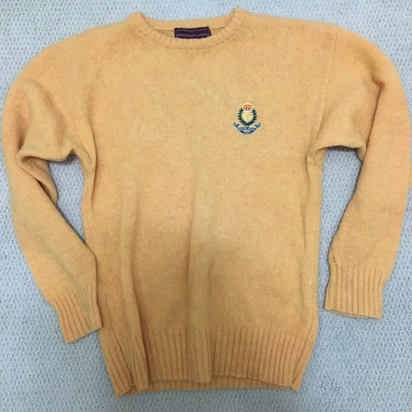 Chaps Other - Vintage Chaps Ralph Lauren 100% Wool Sweater Large